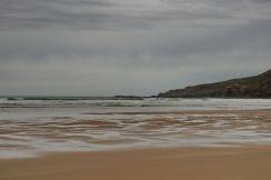 Dornoch's menschenleerer Strand