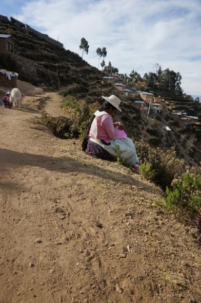 Arbeit auf der Isla del so