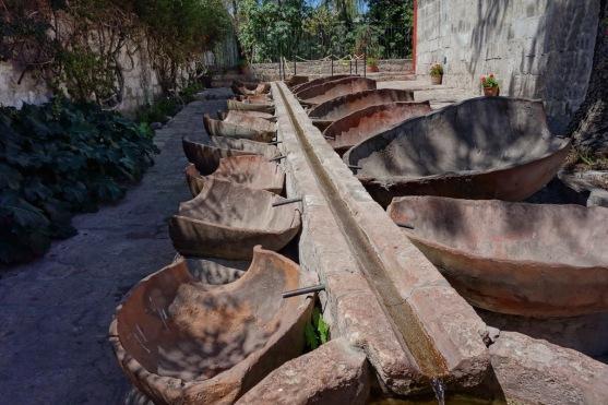 Wäscherei in der Monasteria Santa Catalina in Arequipa