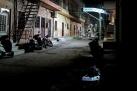 Jodhpur Gasse bei Nacht