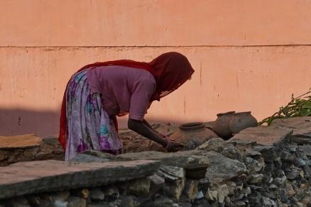 Udaipur auf dem Lande